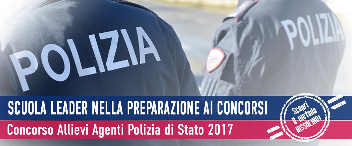 Concorso 1.148 Agenti Polizia di Stato 2017 (Aperto ai Civili) - Bando
