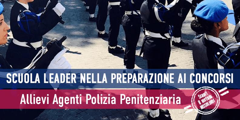 Concorso 1.220 Agenti Polizia Penitenziaria 2018 - Diario Prova Scritta