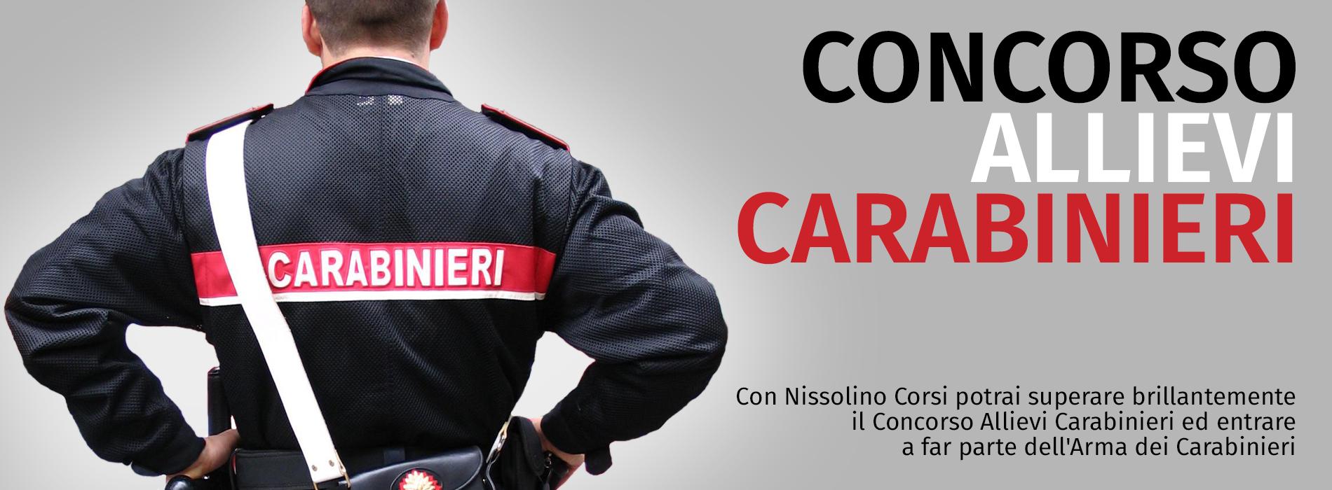 Concorso 2.000 Allievi Carabinieri 2018