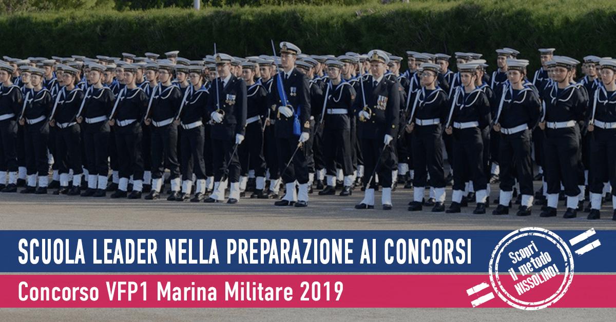 Concorso VFP1 Marina Militare 2019 (1° Blocco) - Elenchi Convocati 2° Incorporamento