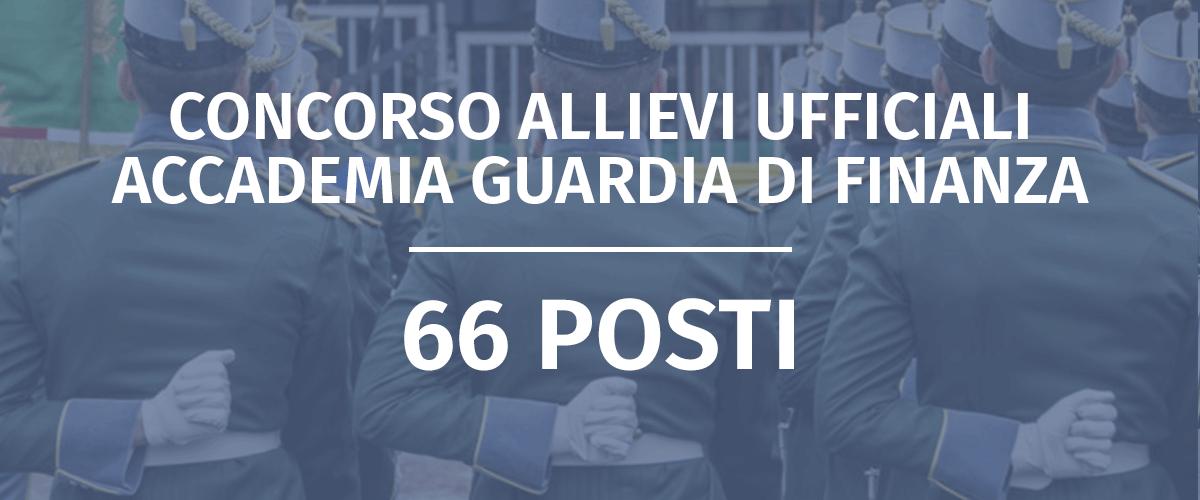 Concorso Allievi Ufficiali Accademia Guardia di Finanza 2019 – Graduatoria Finale Comparto Ordinario