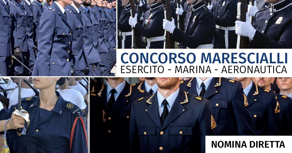 Concorso 5 Marescialli Nomina Diretta Aeronautica 2019 - Calendario Prova Orale