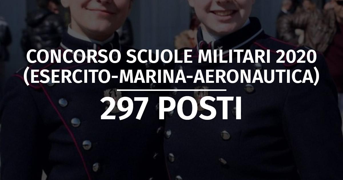 Concorso Scuole Militari Esercito 2020 (Liceo Scientifico) - Calendario Prove Fisiche e Accertamenti
