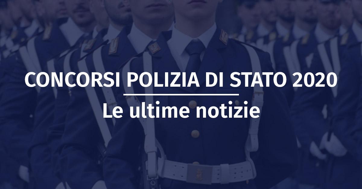 Concorsi Polizia di Stato 2020
