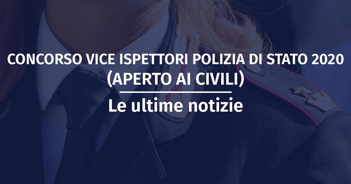 Prossimo Concorso Vice Ispettori Polizia di Stato 2019