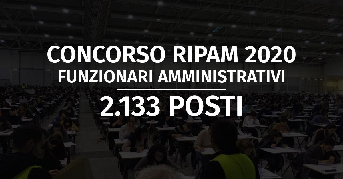 Concorso 95 Funzionari Giuridico-Pedagogici Ministero Giustizia 2020