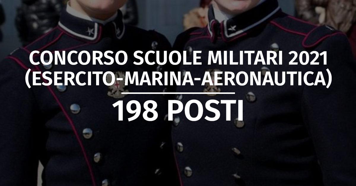 Concorso Scuole Militari 2021 (Esercito, Marina, Aeronautica) - Banca Dati Prova Cultura Generale